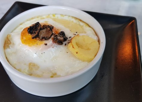 Pratolina, restaurant, italien, truffe, oeuf