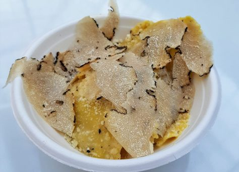 pâtes, truffe