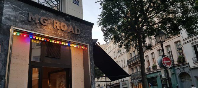 MG Road, un restaurant indien pas comme les autres